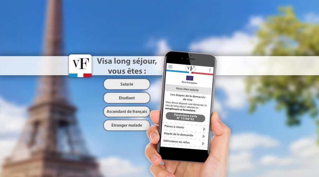 Accueil Application Visa France